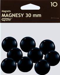 Grand Magnes 30mm czarny 10szt GRAND - 190311