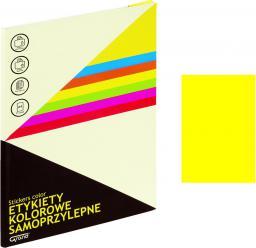Grand Etykietka samoprzylepna A4 żółta (237164)