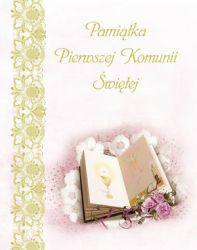 Olesiejuk Pamiątka Pierwszej Komunii Świętej. Księga (128428)