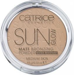 Catrice Sun Glow Matt Bronzing Powder Water Resistant Medium Skin puder brązujący 030 Medium Bronze 9.5g