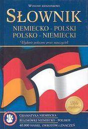 Słownik kieszonkowy niemiecko-polski, polsko-niemiecki (oprawa twarda)