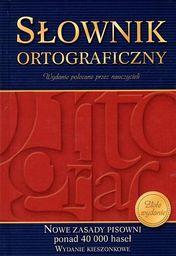 Kieszonkowy słownik ortograficzny (oprawa twarda)