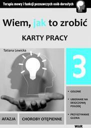 Wiem, jak to zrobić - Karty pracy - cz. 3