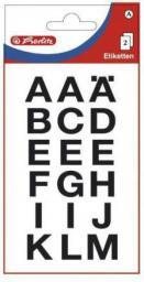Herlitz Etykiety Litery duże (214001)