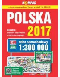 Atlas samochodowy Polska 1:300 000 w. 2017 (225198)