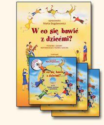 W co się bawić z dziećmi? książka + 3CD(kpl)