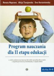 Program nauczania dla II etapu edukacji w SP