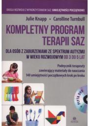 Harmonia Kompletny program terapii SAZ 3-5 lat podr. + DVD