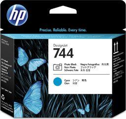 HP Atrament/744 Photo Black+Cyan Printhead - F9J86A