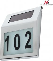 Maclean Lampa solarna MCE172, numer domu LED