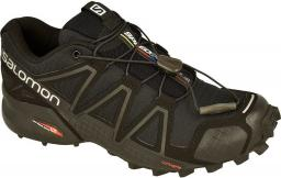 Salomon Buty damskie Speedcross 4 W Black/Black/Black Metallic r. 38 2/3 (383097)