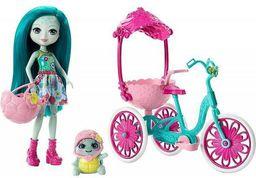 Mattel ENCHANTIMALS Lalka + Rowerek na trzech kołach - (FJH11/FCC65)