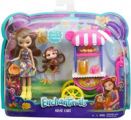 Mattel ENCHANTIMALS Lalka + Wózek z owocami (FJH11/FCG93)