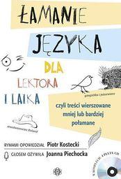 Łamanie języka dla lektora i laika + 4CD (kpl)