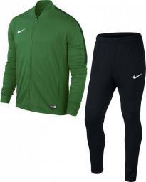 Nike Dres piłkarski Academy 16 Knit 2 Junior r. XL zielono-czarny (808760-302)