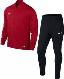 Nike Dres piłkarski Academy 16 Knit 2 Junior r. XL czerwono-czarny (808760-657)