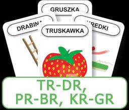 Logopedyczny Piotruś. Część XIV - TR-DR, PR-BR, KR