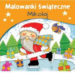 Malowanki świąteczne. Mikołaj (217830)