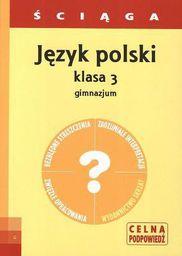 Ściąga - J. Polski GIM 3