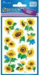 Avery Zweckform Naklejki z kwiatami Słoneczniki (106820)