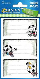 Avery Zweckform Naklejki na zeszyty Piłka nożna