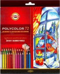 Koh-I-Noor Kredki Polycolor 72 kolory (249384)