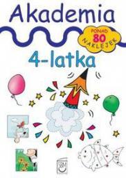 SBM Książka z naklejkami Akademia 4-latka (226436)