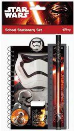 Eurocom Zestaw szkolny z gumką, linijką Star Wars - 208902