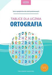 Ortografia. Tablice dla ucznia