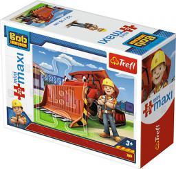 Trefl Puzzle 20 miniMaxi - Bob i maszyny 4 (248601)