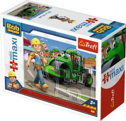 Trefl Puzzle MiniMaxi Bob i maszyny 2 20 elementów (248599)