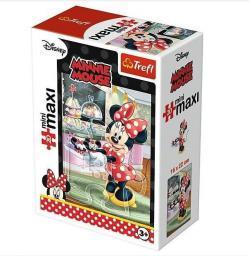 Trefl Puzzle 20 miniMaxi - Ulubione zajęcia Minni 2 (249305)