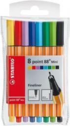 Stabilo Cienkopis Point Mini 8 kolorów etui (134984)