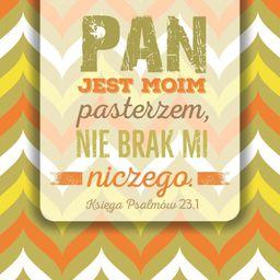 Szaron Podstawka korkowa - Pan jest moim pasterzem - 225860