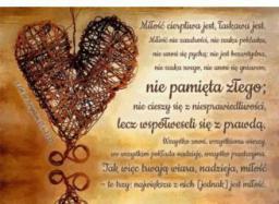 Szaron A Kartka składana - Hymn o miłości (225805)