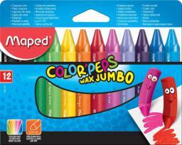 Maped Kredki Colorpeps świecowe Jumbo 12 kolorów (206032)