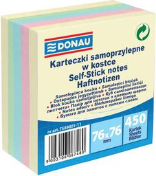 Donau Notes Mix Samoprzylepny 76X76 (7589001-11)
