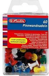 Herlitz Pinezki kołeczki, 60 szt. (242150)