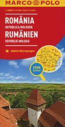 Mapa ZOOM System. Rumunia, Mołdawia. Mapa