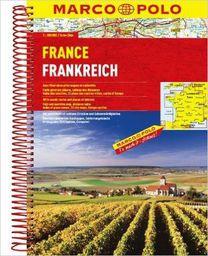 Francja Atlas drogowy 1:300 000
