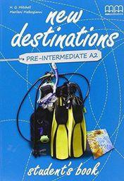 New Destinations Pre-inter.A2 SB
