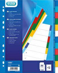 Elba Przekładki kolorowe A4+ 12szt. (E17210220)