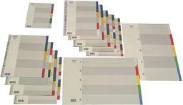 Elba Przekładki plastikowe A4+ kolorowe 5szt.  (100209052)