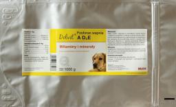 Dolfos (Dolvit) Canis Ad3e + Fosforan  Wapnia 1kg