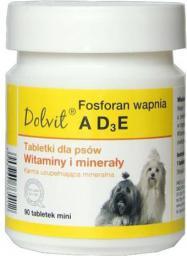 Dolfos (Dolvit) Canis Ad3e+ Fosforan Wapnia Mini 90tabletek