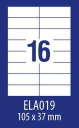 Avery Zweckform ETYK.ZF ECONOMY 105X37MM 019 100ARK ETYKIETA E100 ELA019 - ELA019