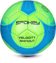 Spokey Piłka nożna VELOCITY SHINOUT zielona r. 5 (920050)