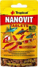 Tropical NANOVIT TABLETS 70SZT D/NARYBKU (59832)