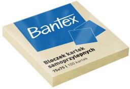 Bantex NOTES SAMOP.75X75 100K ŻÓŁTY BANTEX  - 400086384