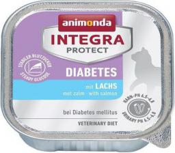 ANIMONDA  INTEGRA  KOT 100G PROTECT DIABETES ŁOSOŚ/CUKRZYCA